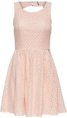 ONLY Dámske šaty Line Fairy Lace Dress Wvn Noosa Peachy Keen 36