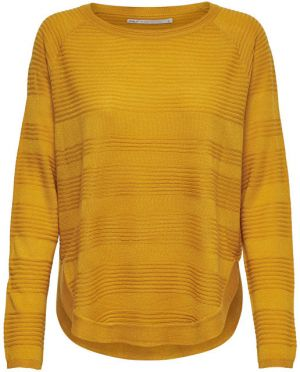 ONLY Dámsky sveter onlCAVIAR L / S pullower KNT Noosa Gold en Yellow XS