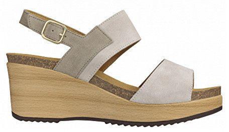 018d3dd0b9bc2f Scholl Dámske sandále Elara Bioprint Light Grey F270571070 39 značky Scholl  - Lovely.sk