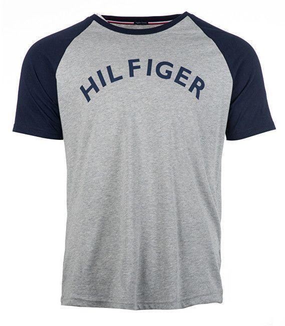 b11836e006 Tommy Hilfiger Pánske tričko Cn Tee Rs Logo Grey Heather UM0UM00699-004 M  značky Tommy Hilfiger - Lovely.sk