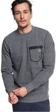 Quiksilver Sveter Yatte Crew Medium Grey Heather EQYFT03852-KPVH M