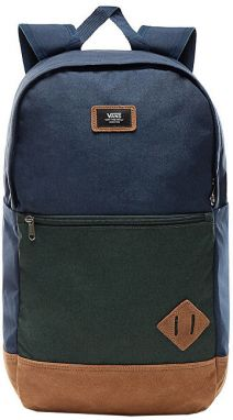 VANS Pánsky batoh Van Doren III Backpack Dress Blues/Darkest Spruce VA2WNUROX