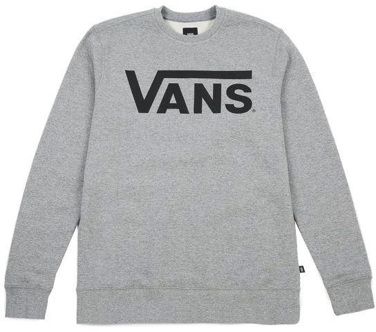 VANS Pánska mikina Vans Classic Crew Concrete Heather Black VN000YX0ADY M  značky Vans - Lovely.sk d6f8240d21