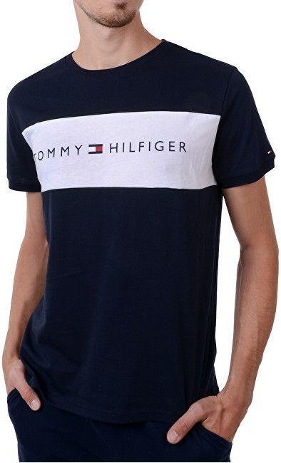 96aca431a1d3 Tommy Hilfiger Pánske tričko Cotton Icon Rn Tee Ss Logo Navy Blaze r  UM0UM00963 -416 L značky Tommy Hilfiger - Lovely.sk