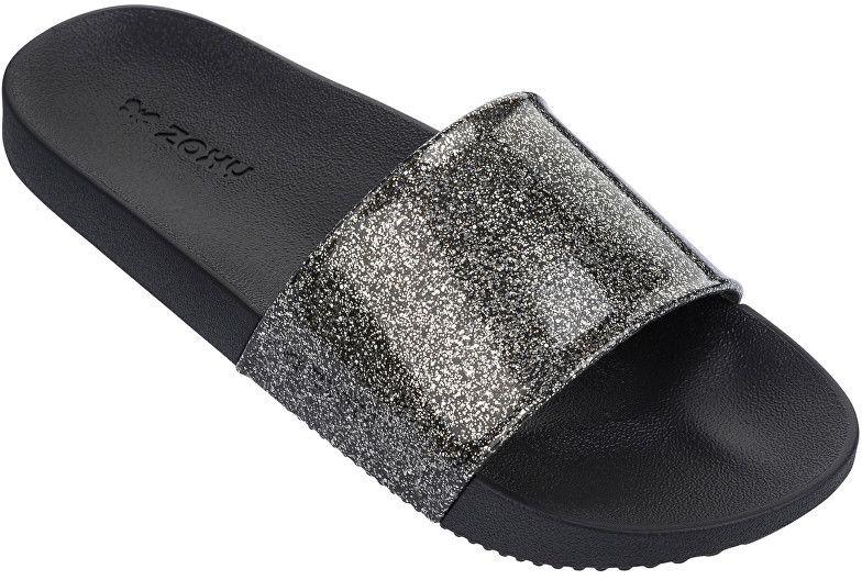 f0d1d6b839e39 Zaxy Dámske šľapky Snap Slide Glitter Fem 82440-90288 Glitter Black 35-36  značky Zaxy - Lovely.sk