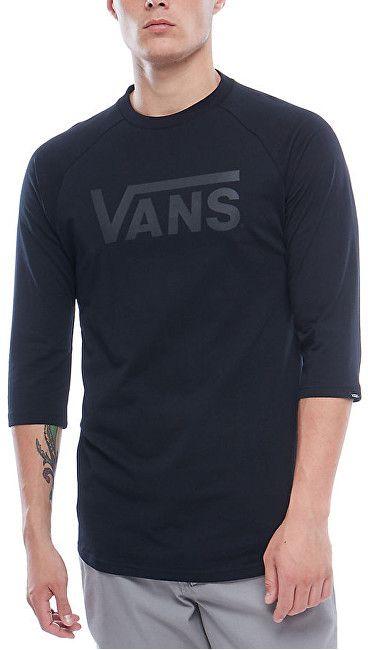 VANS Pánske tričko Vans Classic Raglan Black Black V002QQBKA XL značky Vans  - Lovely.sk 7f7d043e57