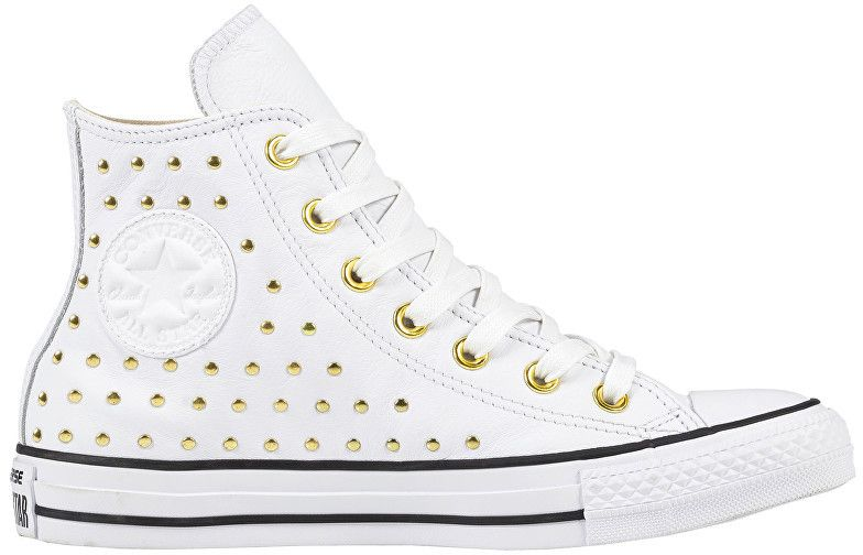 628567399068 Converse Dámske členkové tenisky Chuck Taylor All Star White White Gold 37  značky Converse - Lovely.sk