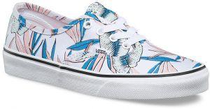 acaca9d6bce Biele dámske lesklé kožené slip on tenisky Vans Classic značky Vans ...