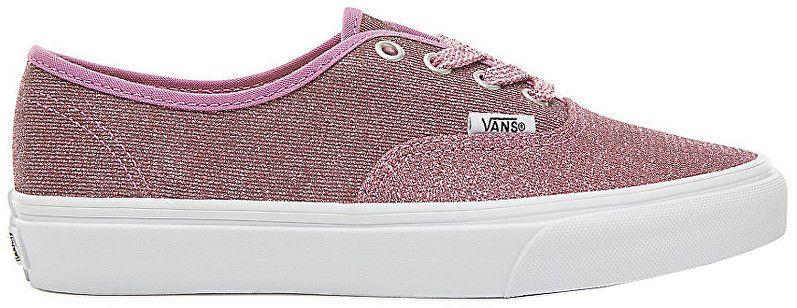 61eea6add2185 VANS Dámske tenisky UA Authentic Lurex Glitter Pink/True White VA38EMU3U 37  značky Vans - Lovely.sk