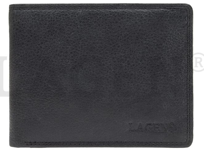 f1cd42279b6f Lagen Pánska kožená peňaženka 103 Black značky Lagen - Lovely.sk