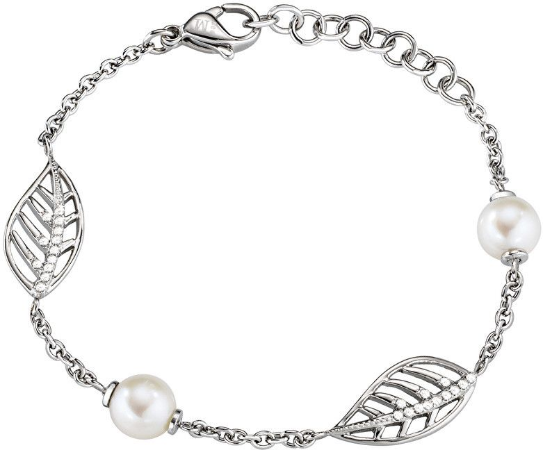 1b7f074e3 Morellato Romantický náramok s pravými perlami Foglia AKH18 značky ...