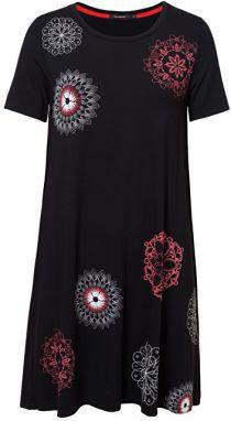 918ffcf024a3 Desigual Dámske šaty Vest Liricaa Negro 19SWVK86 2000 XS