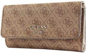8526377775 Guess Dámska peňaženka Open Road Check Organizer Cognac značky Guess ...