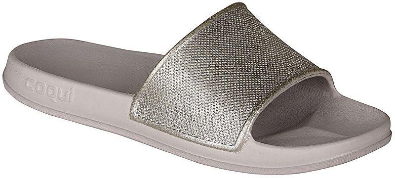 afa487ec2 Coqui Dámske šľapky Tora Khaki Grey/Silver Glitter 7082-301-4600 38 značky  Coqui - Lovely.sk