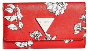 Guess Dámska peňaženka Factory Women`s Abree Floral Slim Wallet