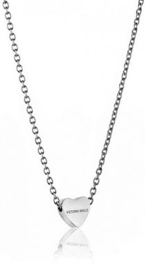 dd6811c73323b Victoria Walls Oceľový náhrdelník so srdiečkom VN1051S