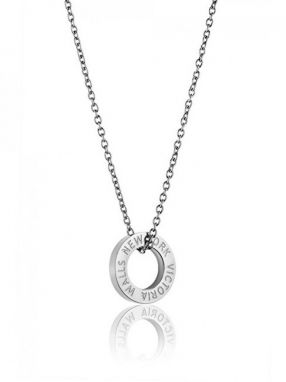 2c1f81ccef9da Victoria Walls Oceľový náhrdelník VN1054S