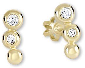 f4c489e54 Brilio Zlaté náušnice s čírymi kryštálmi 239 001 00255 značky Brilio ...