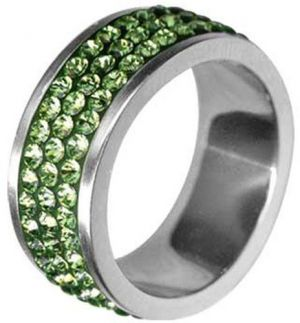 Tribal Prsteň RSSW03-PERIDOT 48 mm