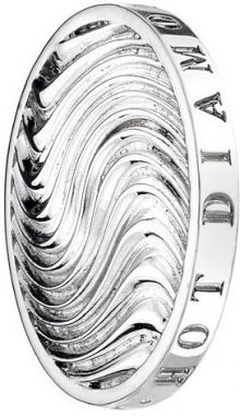 Hot Diamonds Prívesok Emozioni Silver Wave Coin EC015-EC053 33 mm
