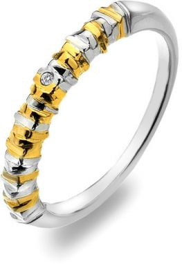 Hot Diamonds Prsteň By The Store Gold DR156 54 mm