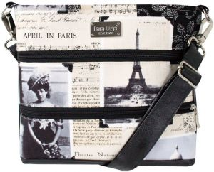 Dara bags Crossbody kabelka Darian Mini No. 1253 I Love Paris