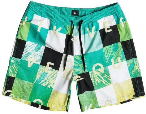 87465d840a Quiksilver Pánske kúpacie šortky Check Remix VL 17 Pool Green  EQYJV03052-GMJ6 XL značky Quiksilver - Lovely.sk