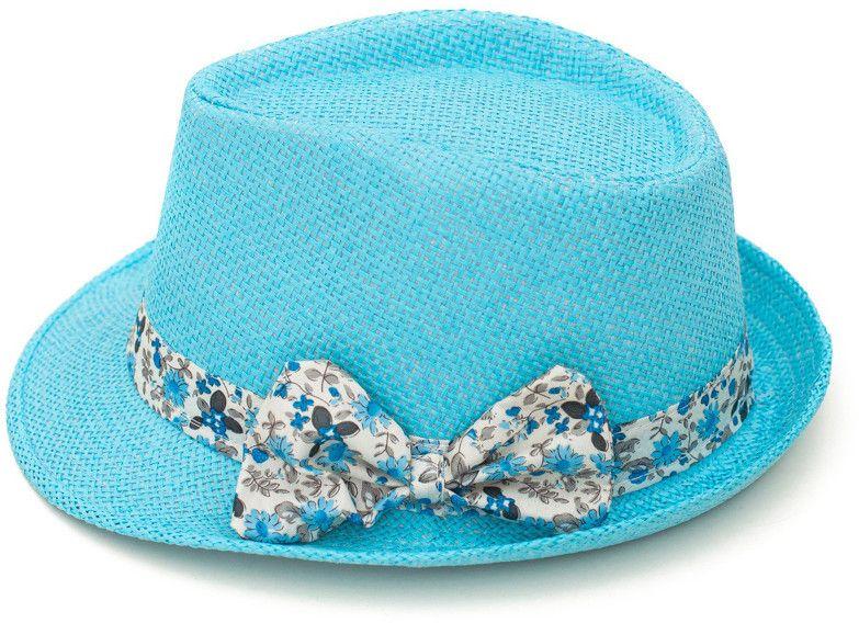 247a2c146 Art of Polo Dámsky letný klobúk s mašľou - tyrkysová cz15161 .13 56 ...