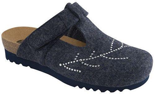 9f7a7a3848c8 Scholl Dámske papuče Fotinia Bioprint Navy Blue F263111040 39 značky Scholl  - Lovely.sk