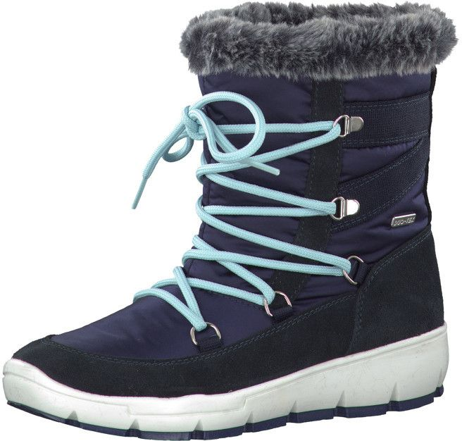 90c2106bbd Tamaris Elegantná dámska zimná obuv 1-1-26472-37 805 Navy 37 značky Tamaris  - Lovely.sk
