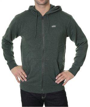 VANS Pánska mikina Core Basics Zip Hood ie IV Green Gables Heather V006IZKQ7 S