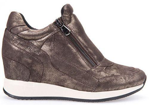 16ba3c301b94 GEOX Elegantné dámske topánky Nydame Dark Coffee D620QA-000m-C6024 38  značky Geox - Lovely.sk