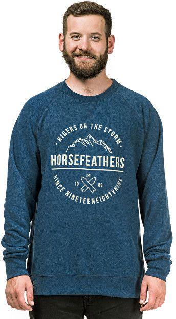 dc733addfa5e Horsefeathers Pánska mikina Timothy HeatherNavy SM818D M značky  Horsefeathers - Lovely.sk