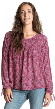 Roxy Top Definitely Maybe In The Breeze SCARLET ERJWD03065-RPN6 S