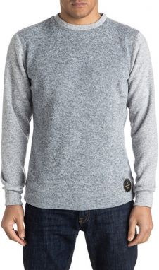 Quiksilver Pánska mikina Keller Crew Light Grey Heather EQYFT03435-SGRH M