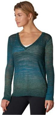 Prana Dámsky sveter Julien Sweater Deep Teal M