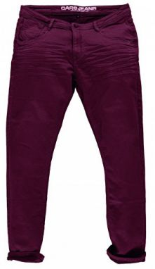 Cars Jeans Jog pánt men nohavice Prinze Burgundy 7977758.32 30