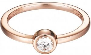 Esprit Prsteň Tiny Rose ESRG92424B 54 mm