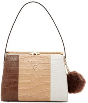Guess Elegantná kabelka Rhoda Frame Shoulder Bag