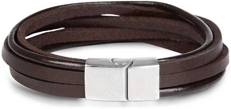 70d707634 Troli Hnedý kožený náramok Leather značky Troli - Lovely.sk