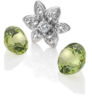 Hot Diamonds Element Kvetina s Peridot Anais EX206
