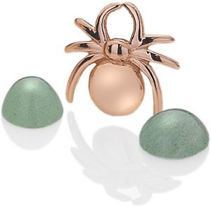 Hot Diamonds Element Pavúčik s Aventurine EX097