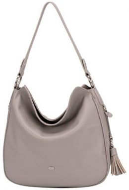 David Jones Elegantna kabelka Grey CM3322