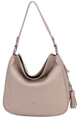 David Jones Elegantna kabelka Creamy Grey CM3322