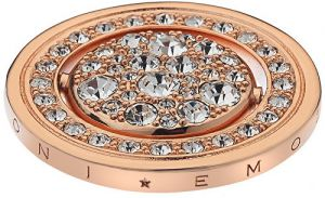 Hot Diamonds Prívesok Hot Diamonds Emozioni Acqua e Aria Rose Gold Coin EC243-242 2,5 cm