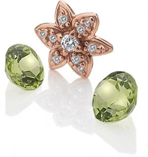 Hot Diamonds Element Kvetina s Peridot Anais EX207
