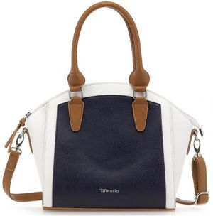 Tamaris Elegantná kabelka Sharon Boston Bag 2228171-890 Navy comb.