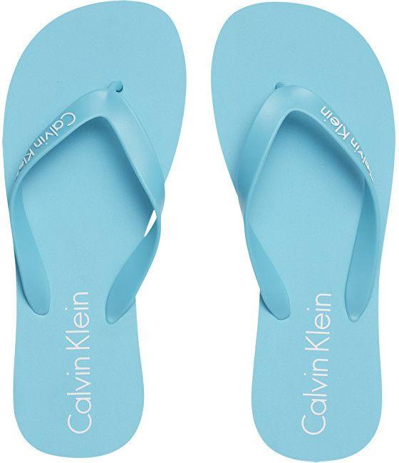 f6cf3ba330f9 Calvin Klein Pánske žabky FF Sandal Solid KM0KM00123-476 Blue Atoll M značky  Calvin Klein - Lovely.sk