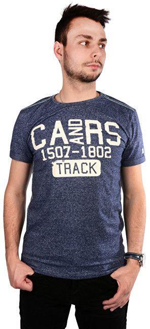 684d23b86eab Cars Jeans Pánske modré tričko s potlačou Arjo Navy 4058211 M značky Cars  Jeans - Lovely.sk