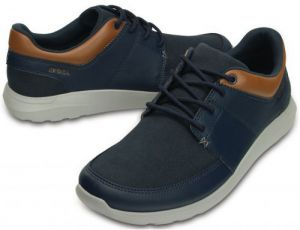 Crocs Tenisky Crocs Kinsale Lace-up Navy / Light Grey 203052 41-42